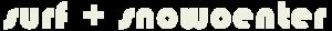 Logo-Surf + Snowboardcenter